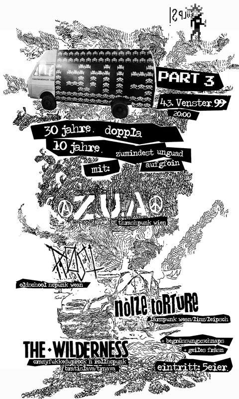 Rost // ZxUxAx // The Wilderness // Noize Torture @Venster99