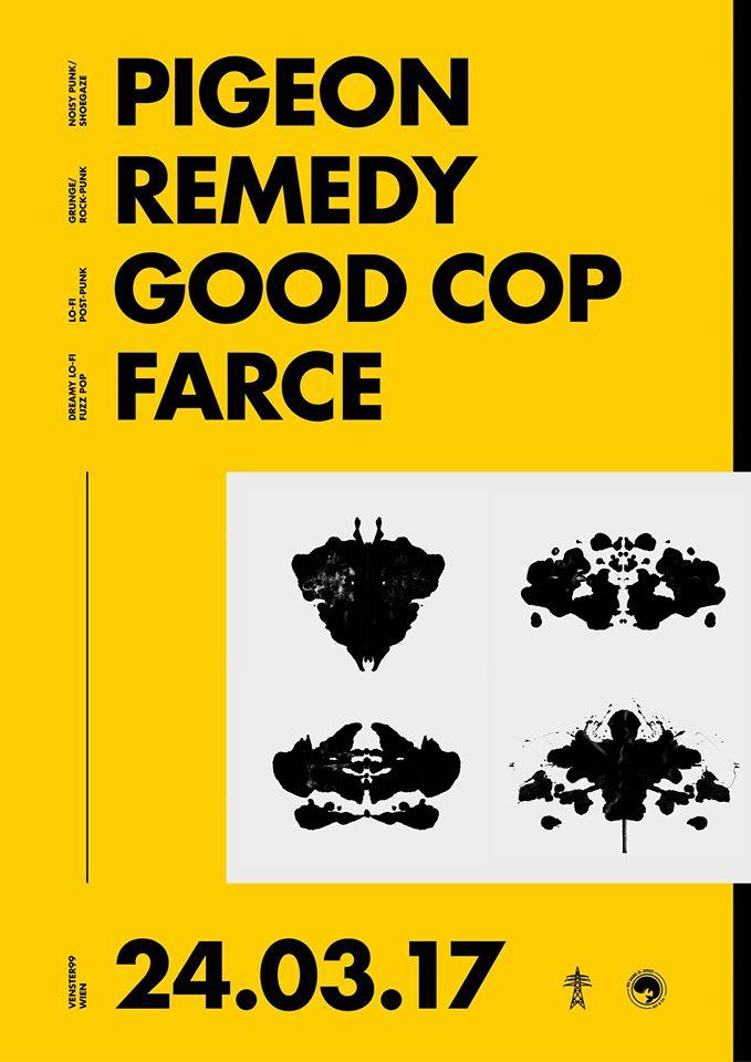 Pigeon // Remedy // Farce // Good Cop @Venster99