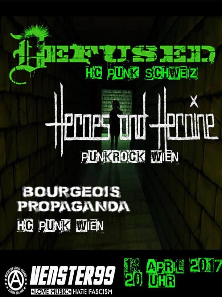 Defused // Heroes and Heroine // Bourgeois Propaganda @Venster99