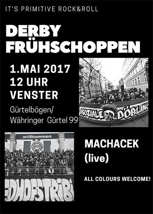 Derby Frühschoppen + Soli für die Vienna @Venster99