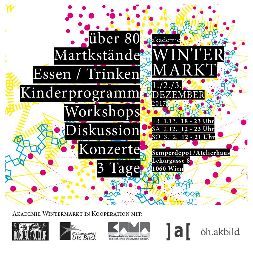 Akademie Wintermarkt @Semperdepot/Atelierhaus