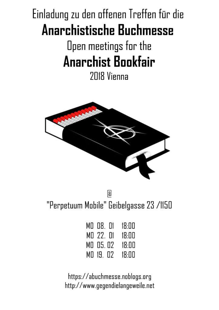 Offenes Treffen für die anarchistische Buchmesse @Perpeteuum Mobile