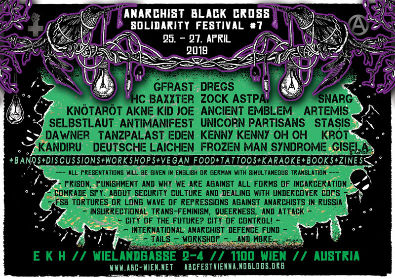 Anarchist Black Cross Solidarity Festival #7 @ekh