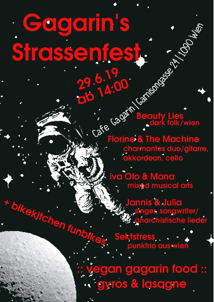 Gagarin Strassenfest
