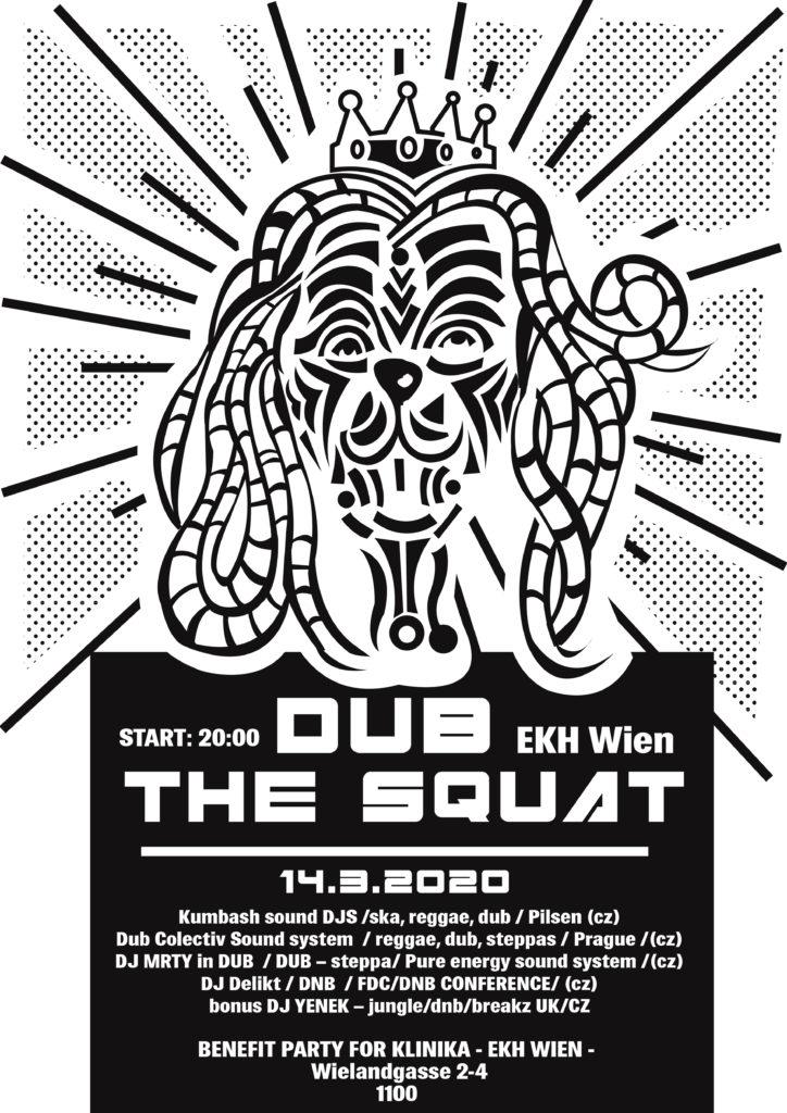 DUB the Squad. Klinika Soli Party @ekh